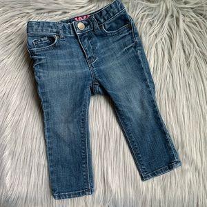 Baby GAP 1969 Infant Toddler Girls Blue Jeans